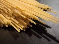 Spaghetti mit Rucola und Mozzarella