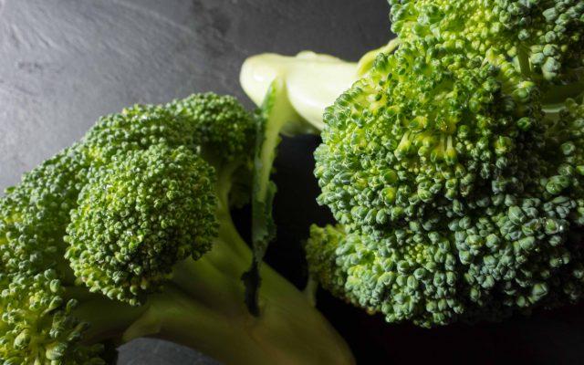 Kräuterseitling und Brokkoli