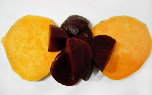 Süßkartoffel-Rote Beete-Salat