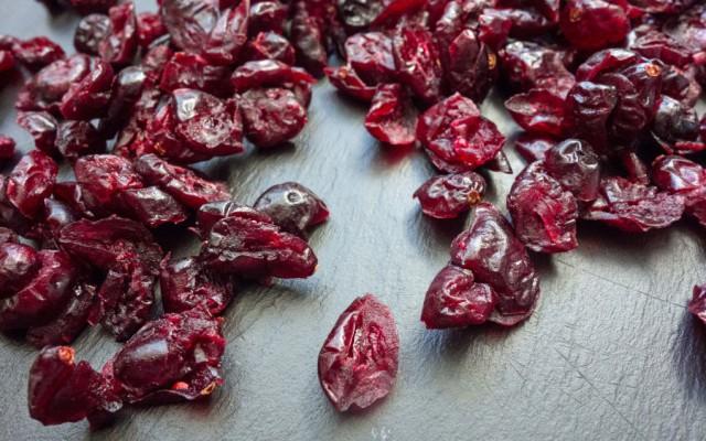 geschmorte Entenkeule mit Cranberries