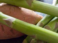 Grüner Spargel-Süßkartoffel-Suppe